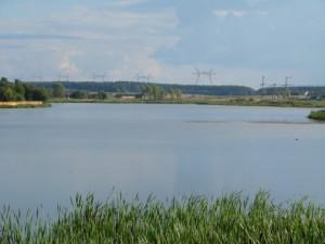 Городское озеро на реке Березина